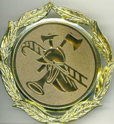 Medaille Feuerwehrsport
